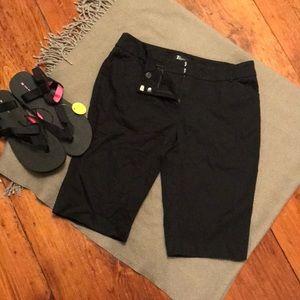 NY&Co Black Bermuda shorts